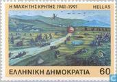 L'invasion allemande de la Crète 50 années