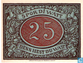 Banknoten  - Schneverdingen - Sparkasse - Schneverdingen 25 Pfennig