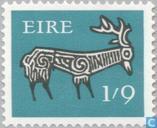 Postage Stamps - Ireland - Early Irish Art