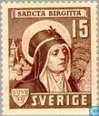 Timbres-poste - Suède [SWE] - Sainte Brigitte