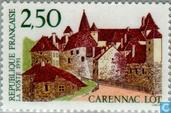 Postage Stamps - France [FRA] - Castle of Carennac