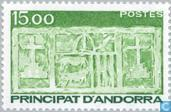 Postage Stamps - Andorra - French - Arms