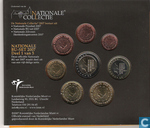 "Monnaies - Pays-Bas - Pays Bas coffret 2007 ""Collection nationale"""