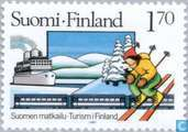 Postage Stamps - Finland - Tourism