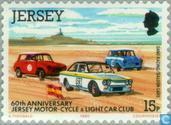 Postage Stamps - Jersey - Motorsport Club 60 years