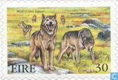 Postzegels - Ierland - Uitgestorven dieren