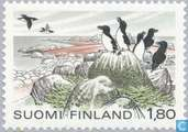 Postage Stamps - Finland - 180 multicolor