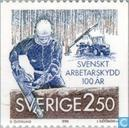 Postage Stamps - Sweden [SWE] - Safety at work