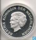 "Monnaies - Aruba - Aruba 10 florin 2002 (PROOFLIKE) ""Marriage of Prince Willem-Alexander with Máxima Zorreguieta"""