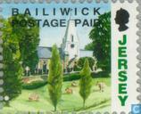 Briefmarken - Jersey - Faces in Jersey