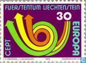 Postage Stamps - Liechtenstein - Europe – Post Horn