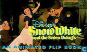 Strips - Sneeuwwitje - Snow White and the Seven Dwarfs - an animated flip book