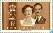 Postage Stamps - Luxembourg - Prince Jean-Marriage