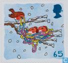 Postage Stamps - Great Britain [GBR] - Christmas-Robins