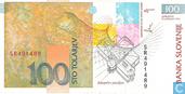 Banknoten  - Slowenien - 1992-2005 Issue - Slowenien 100 Tolarjev 1992