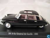 Model cars - Atlas - Citroën DS 19 'Gènéral de Gaulle'