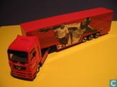 Model cars - Herpa - MAN TGA 'Coca-Cola'
