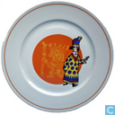 Ceramics - Tintin - De Zonnetempel : bord
