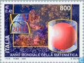 Postage Stamps - Italy [ITA] - Int. Year of Mathematics