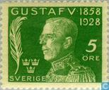 Postzegels - Zweden [SWE] - 5 groen
