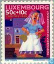 Postage Stamps - Luxembourg - Sagen