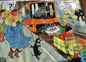 Affiches en posters - Strips - Quick & Flupke : Bon anniversaire pour tes 10 ans métro ! ...