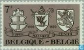Postage Stamps - Belgium [BEL] - attachment of German-speaking cantons
