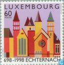 Postage Stamps - Luxembourg - Echternach Abbey 1300 years