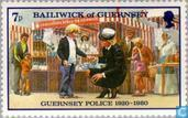 Postage Stamps - Guernsey - Police 60 years