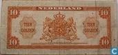 Bankbiljetten - Muntbiljet 1943 - 10 gulden Nederland 1943 II