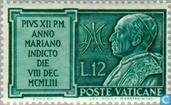 Timbres-poste - Vatican - Maria ans