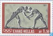 Postzegels - Griekenland - Olympische Spelen