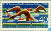 Postage Stamps - Berlin - Swimming World Cup