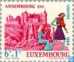 Postage Stamps - Luxembourg - Castles