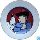 Céramique - Tintin - Bordje - Serie 3/6 : De Zwarte Rotsen