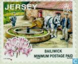Briefmarken - Jersey - Traditionelle Arbeitsmarkt