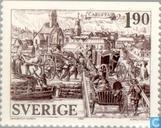 Timbres-poste - Suède [SWE] - Karlstad anno 1584