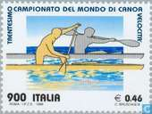 Postage Stamps - Italy [ITA] - WORLD CUP Canoeing