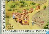 Postage Stamps - United Nations - Geneva - Development
