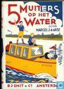 5 muiters op het water