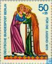 Briefmarken - Berlin - Minnesänger