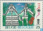 Briefmarken - Belgien [BEL] - Europa – Jahr der Musik