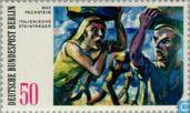 Postage Stamps - Berlin - Modern Paintings