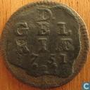 Münzen - Gelderland - Gelderland Duit 1751