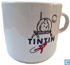 Céramique - Tintin - Tintin sur la Lune : kop (Raket naar de Maan)