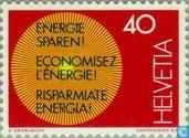 Postage Stamps - Switzerland [CHE] - Energy Saving