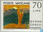 Postage Stamps - Vatican City - Franciscus van Assisi