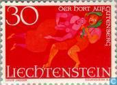 Postage Stamps - Liechtenstein - Sagen