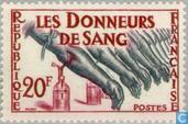 Postage Stamps - France [FRA] - Blood donation