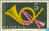 Postzegels - Zwitserland [CHE] - Postjubleum 100 jaar
